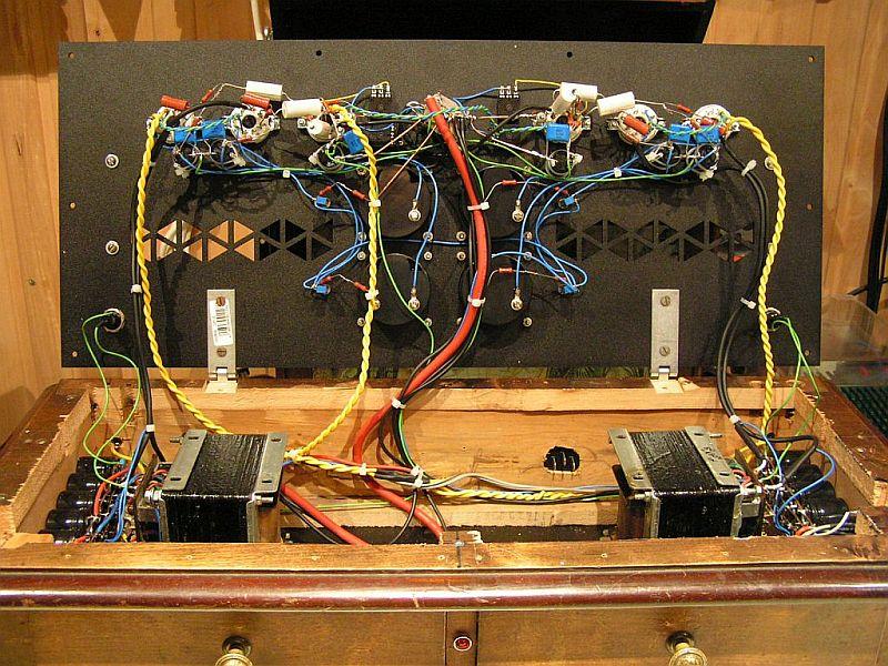 Power Amplifier Push Pull EL34, BEAG TK 150 output